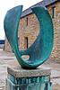 A rather modern sculpture.