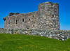 Muness Castle in Unst, our stop for a picnic lunch.