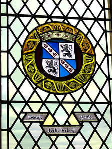Ikkuna Strilingin linnassa, Skotlannissa, 2006.  Window of Stirling Castle, Stirling, Britannia, 2006