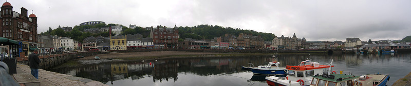 Panorama from Oban, Scotland, 2006