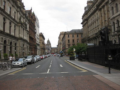 Downtown Glasgow. Day 1. Photo: Tien-Tien Chan.