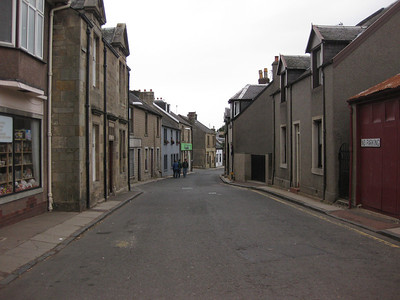 Deserted streets in Douglas. Day 1.