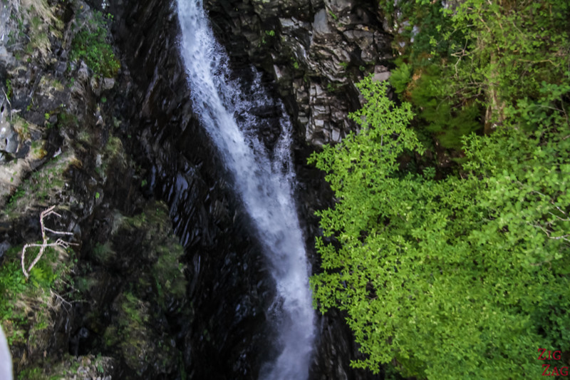Falls of Measach drop