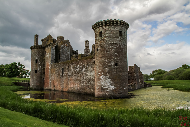 Scotland Photos - Caerlaverock Castle