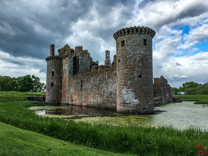 Top Scottish Attractions - Caerlaverock Castle