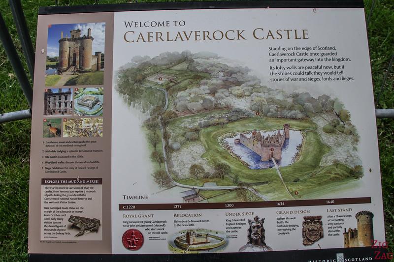 Caerlaverock Park Karte 2