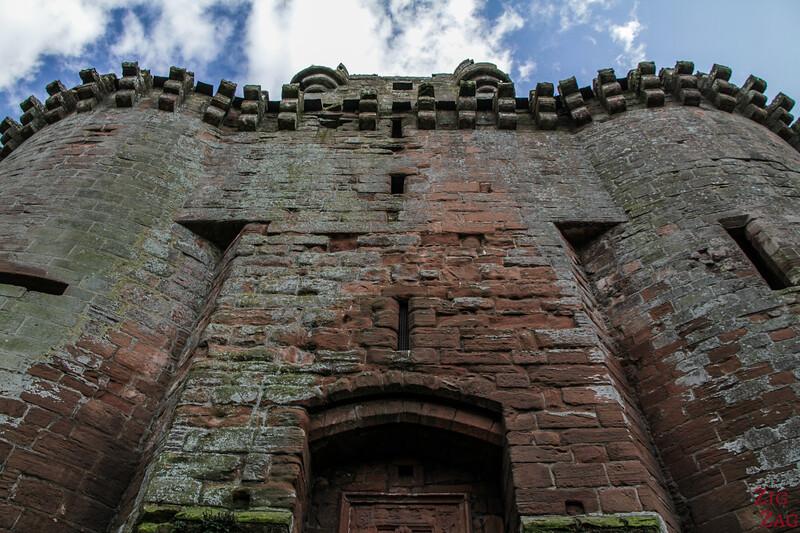 Caerlaverock Castle Scotland - front