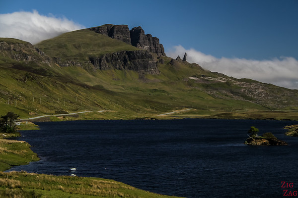 the Old Man of Storr Skye Loch Fada 4