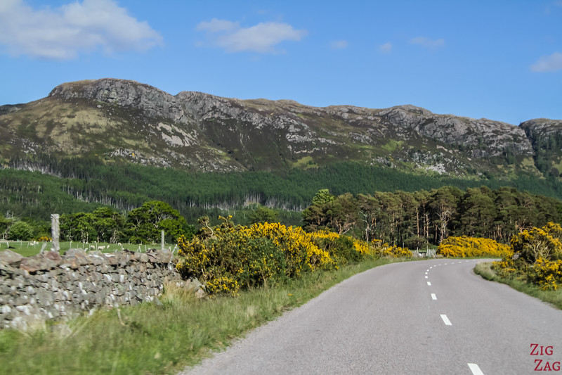 Driving in Wester Ross Scotland 4