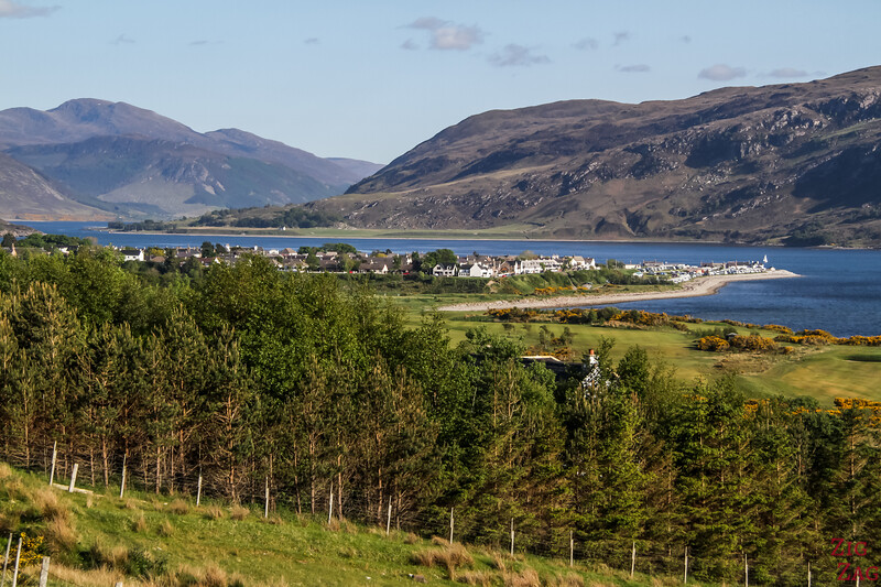 Famous lochs of Scotland - Loch Broom