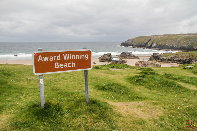 Award winning beach Durness Scotland 1