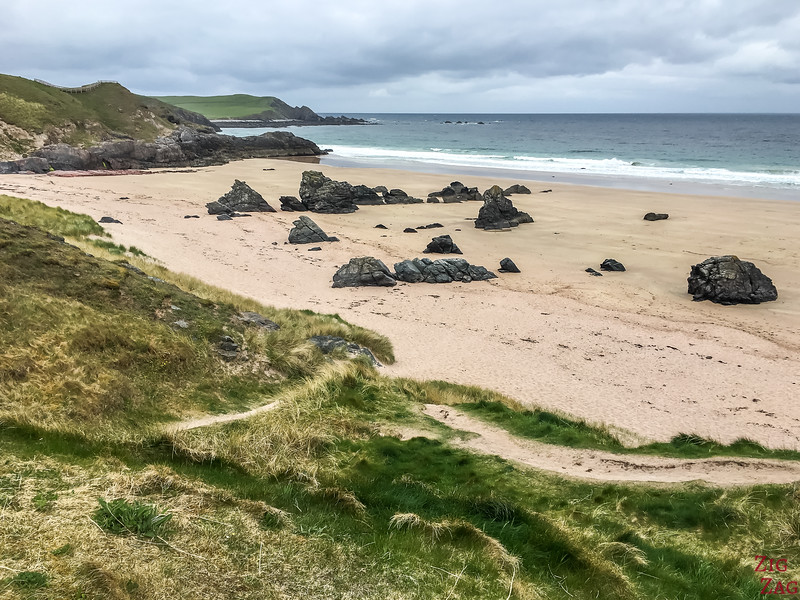 Award winning beach Durness Scotland 2