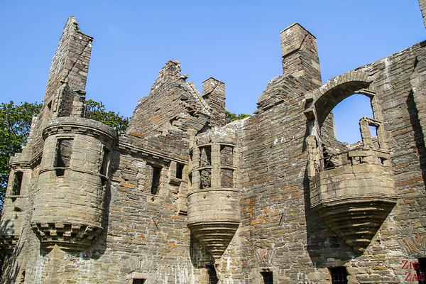 Attractions on Orkney - Earl's Palace