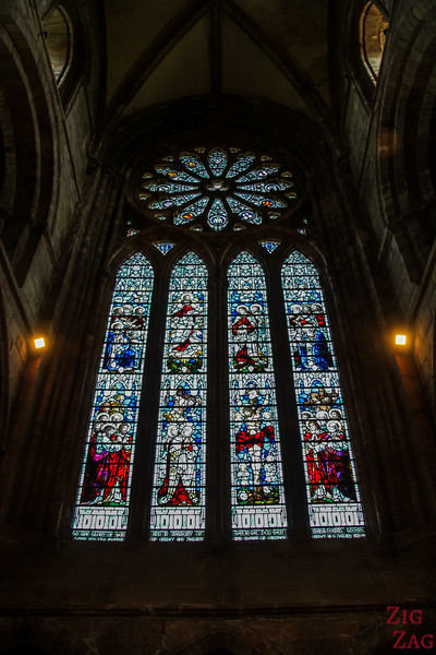 Stained Glass Kirkwall Cathedral St Magnus 2