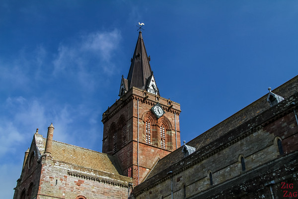 Exterior Kirkwall Cathedral St Magnus 3