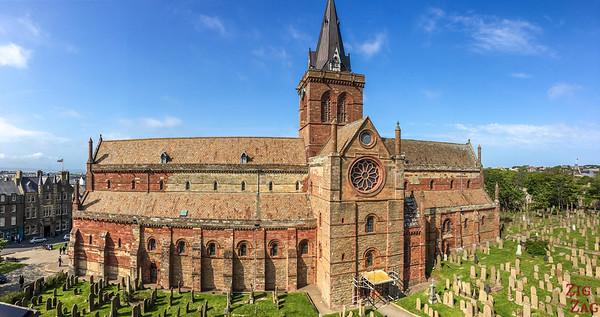 Les Orcades Ecosse - St Magnus Cathedral