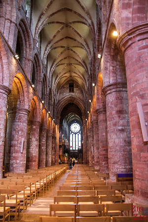 Inside Kirkwall Cathedral St Magnus 1