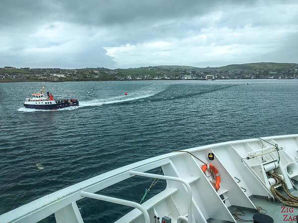 Ferry to Orkney - Scrabster to Stromness arrival