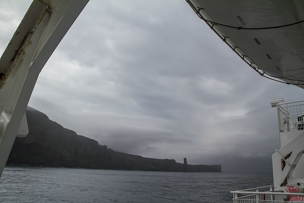 Ferry to Orkney - Side bridge
