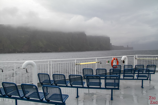 Ferry to Orkney - Viewing bridge