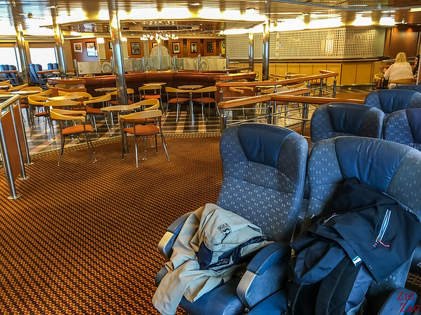 Ferry to Orkney - Inside