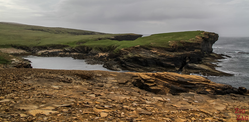 Yesnaby Orkney Cliffs