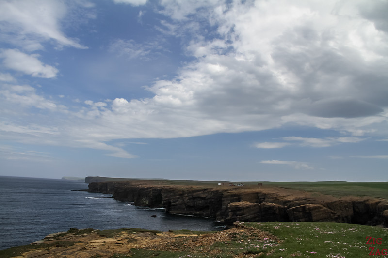 Yesnaby Brough of Bigging - View of Cliffs