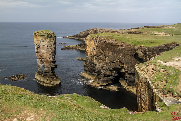 Things to do in Orkney - Yesnaby cliffs