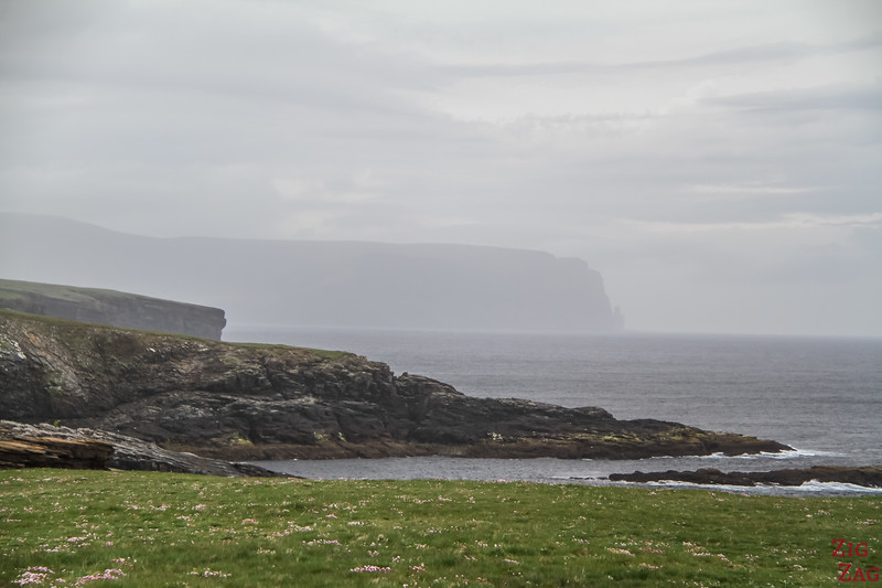 Yesnaby Brough of Bigging - View of Hoy