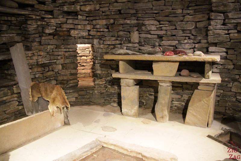 Skara Brae House replica 2