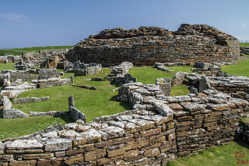Broch of Gurness Orkney 2