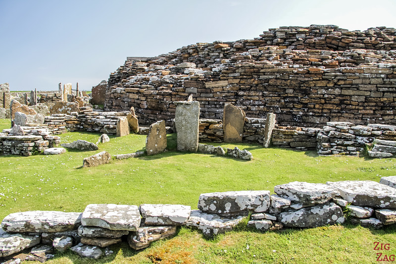 Broch of Gurness architecture 1