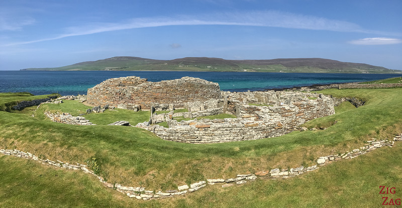 Broch of Gurness Orkney 6