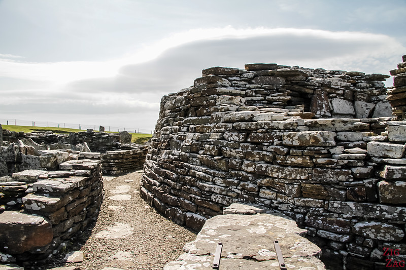 Broch of Gurness architecture 4