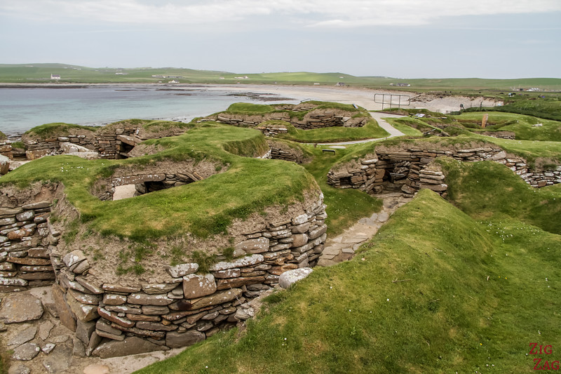 Top Scotland Attractions Historical sites - Skara Brae