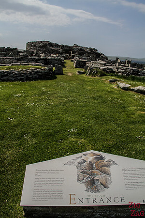 Broch of Gurness Orkney 4