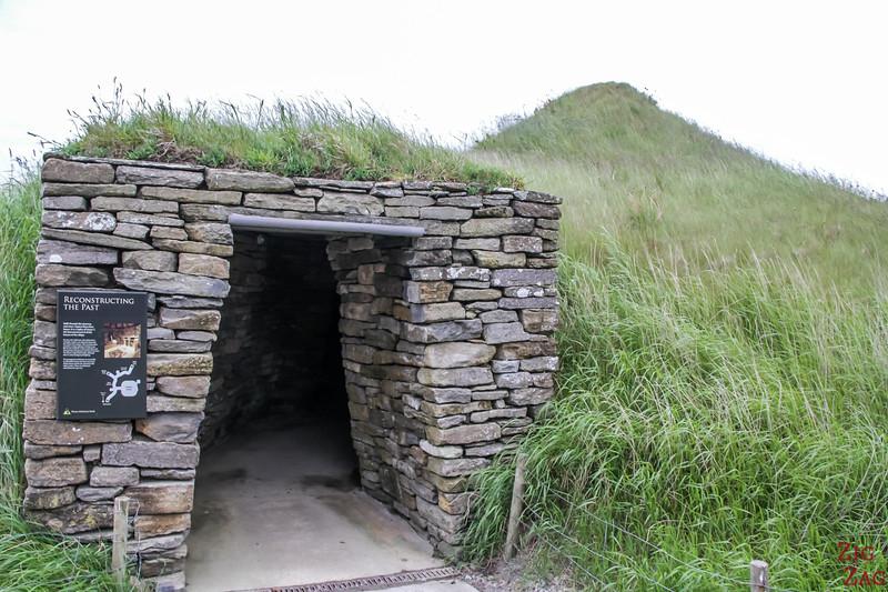 Skara Brae House replica