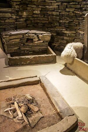 Skara Brae House replica 3
