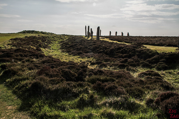 The Ring of Brodgar Orkney  - the circle 6