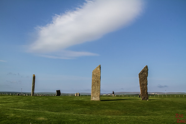 Major sites on Orkney - Standing Stones of Stenness