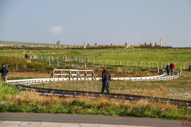 Ring of Brodgar walk