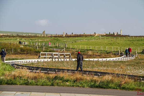 The ring of Brodgar site 1