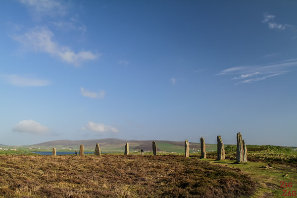 The Ring of Brodgar Orkney  - size of the Ring