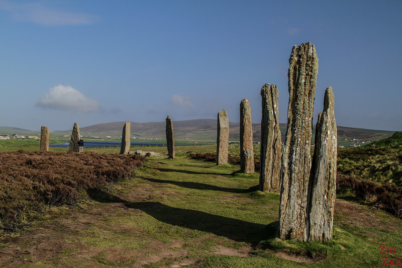The Ring of Brodgar Orkney  - the henge 3