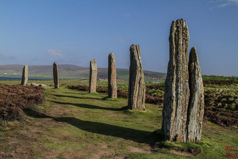 Orkney islands Scotland - Ring of Brodgar