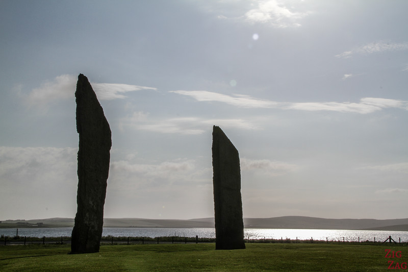 Famous lochs of Scotland - Loch of Stenness