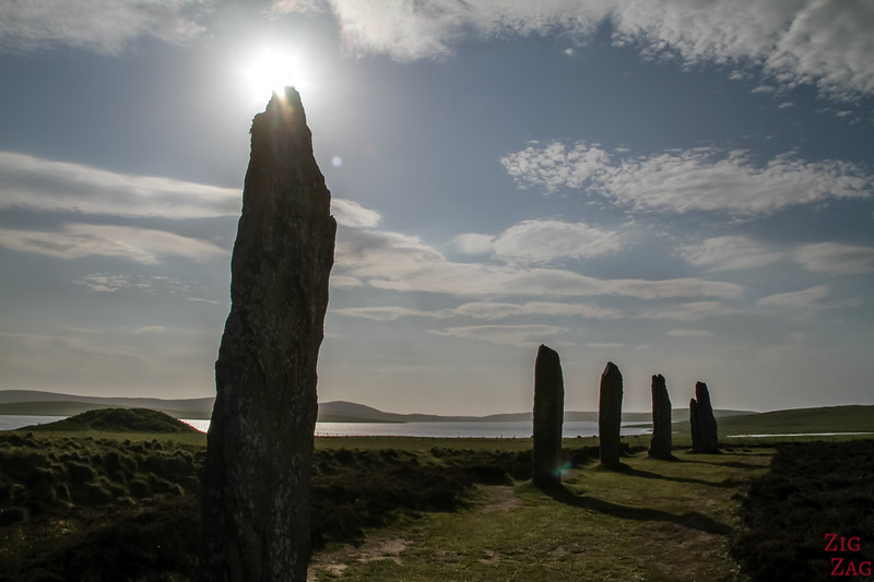 Pictures of Scotland - the Ring of Brodgar