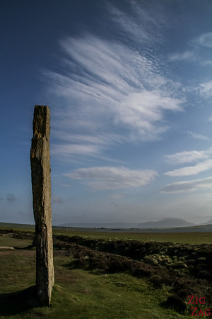 The Ring of Brodgar Orkney  - the stones 1