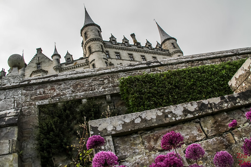 Visit Dunrobin Castle Scotland view  3