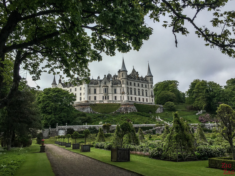 Visit Dunrobin Castle Scotland view  4